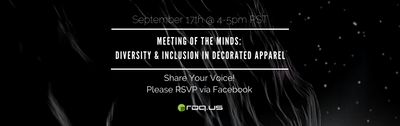 Industry Meeting of the Minds: Diversity & Inclusion in Decorated Apparel