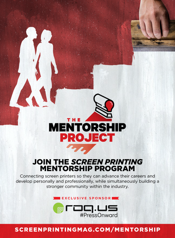 The Screen Printing Mentorship Project Sponsored by ROQ.US