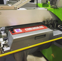 Slant Engineering Stampinator 480 with ROQ Automatic Press