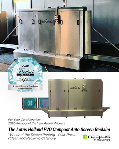 The Lotus Holland Automatic Screen Reclaim System from ROQ.US