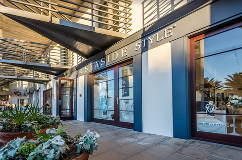The front entrance of The Seaside Style Flagship store