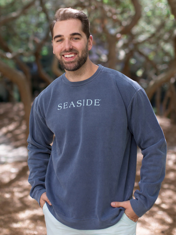 Dark Grey Unisex Seaside Sweatshirt