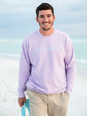 Purple Unisex Seaside Sweatshirt
