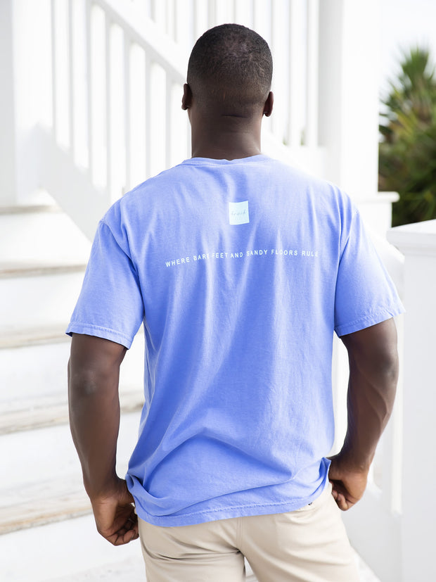 Florida Blue Shortsleeve Unisex Seaside Tee