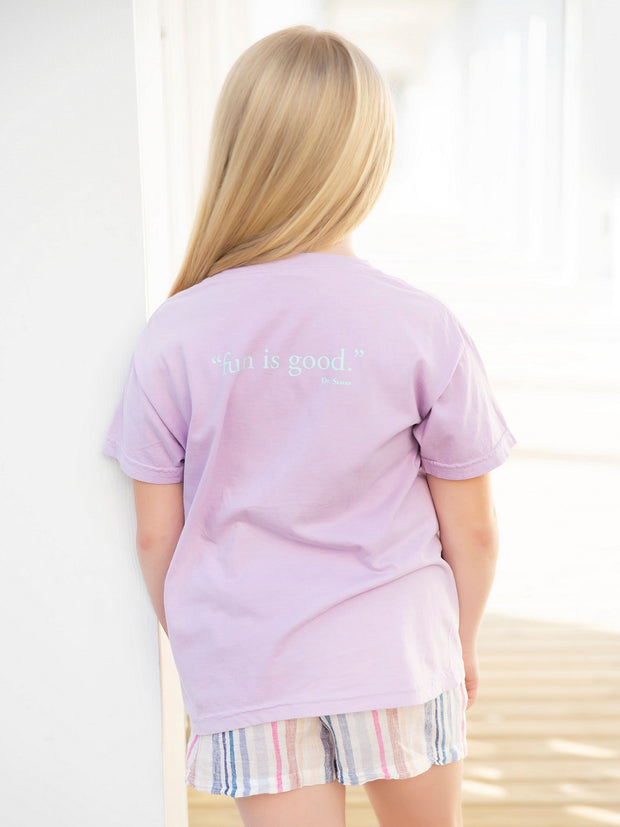 Orchid Youth Shortsleeve Seaside Tee