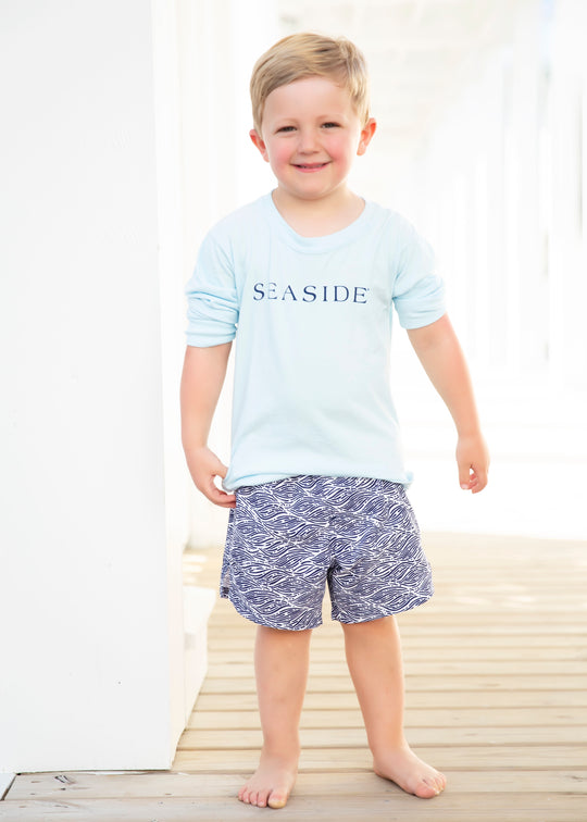 Youth Chambray Longleeve Seaside Tee