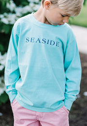 Youth Mint Green Longsleeve Seaside Tee