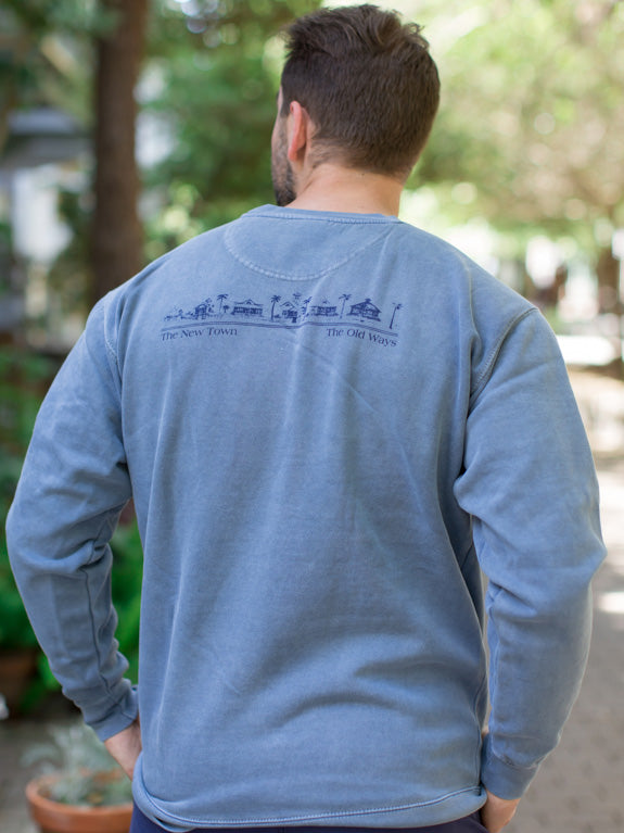 Blue Jean Unisex Seaside Sweatshirt