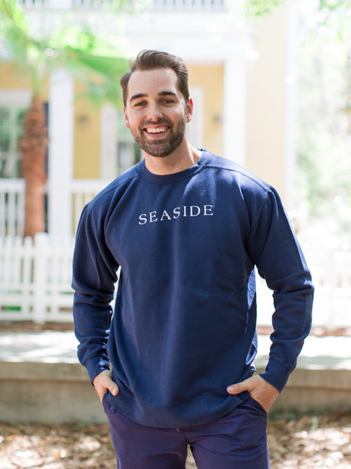 Navy Unisex Seaside Sweatshirt