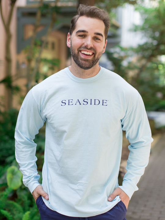 Light Blue Chambray Longsleeve Unisex Seaside Shirt