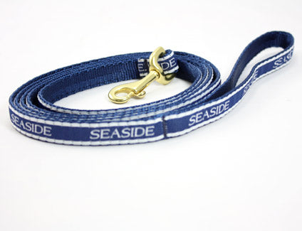 6 Foot Navy Blue Seaside Teacup Leash