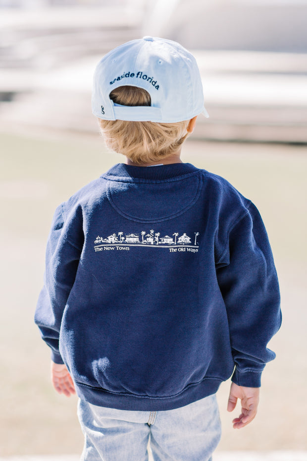Youth Navy Seaside Sweatshirt
