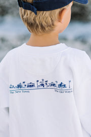 White Youth Newtown Sweatshirt