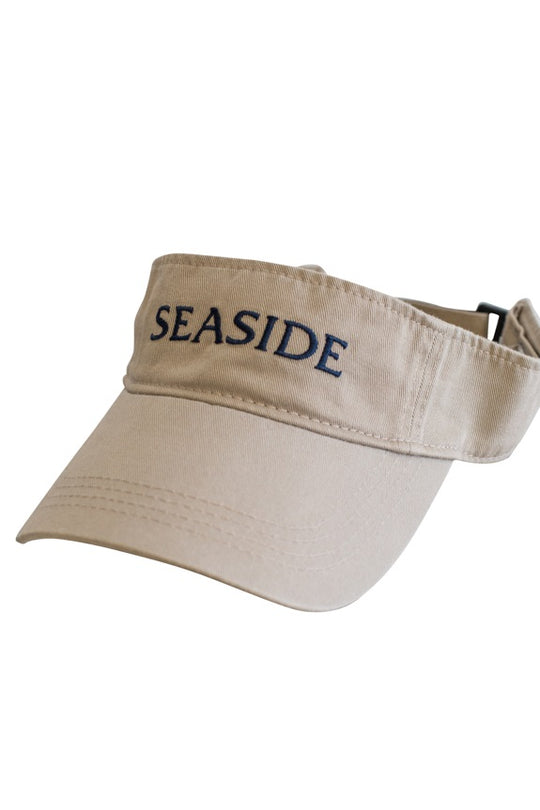 Khaki Chino Adult Seaside Visor