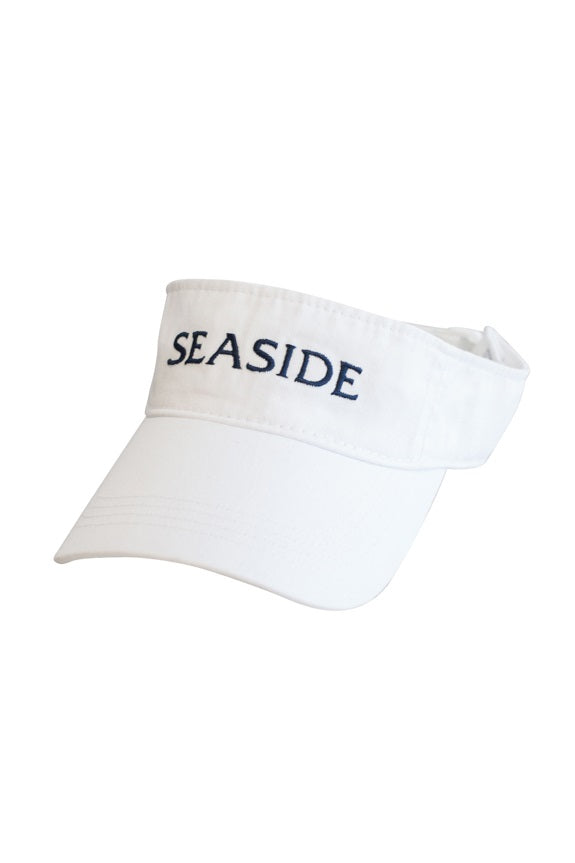 White Adult Seaside Visor