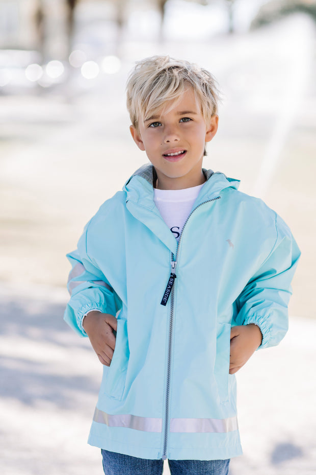 Youth Seaside Rain Coat
