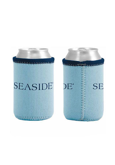 Blue Seaside Can Insulator