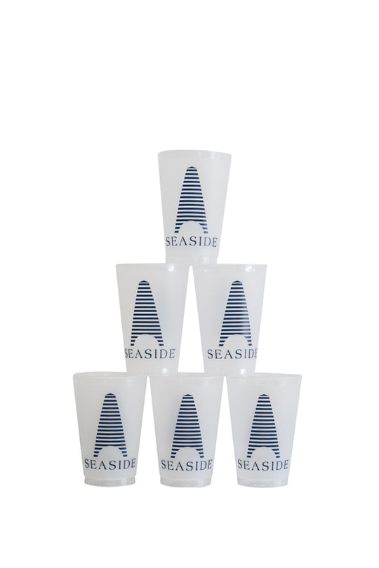 Set of 6 Obe Logo Plastic Cups