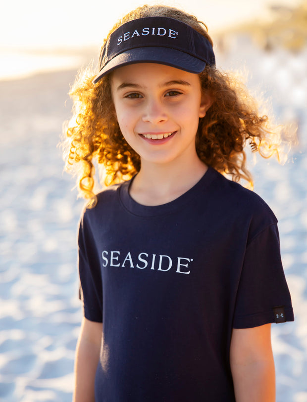 Youth Navy Seaside Visor
