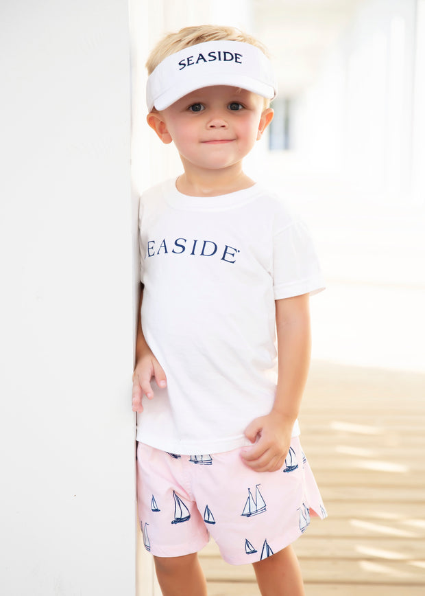 Youth White Seaside Visor