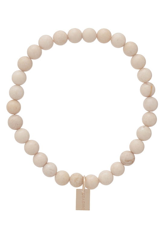 Riverstone Promise Bracelet with Seaside Tag