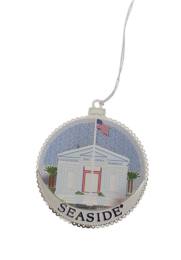 Seaside Post Office Ornament
