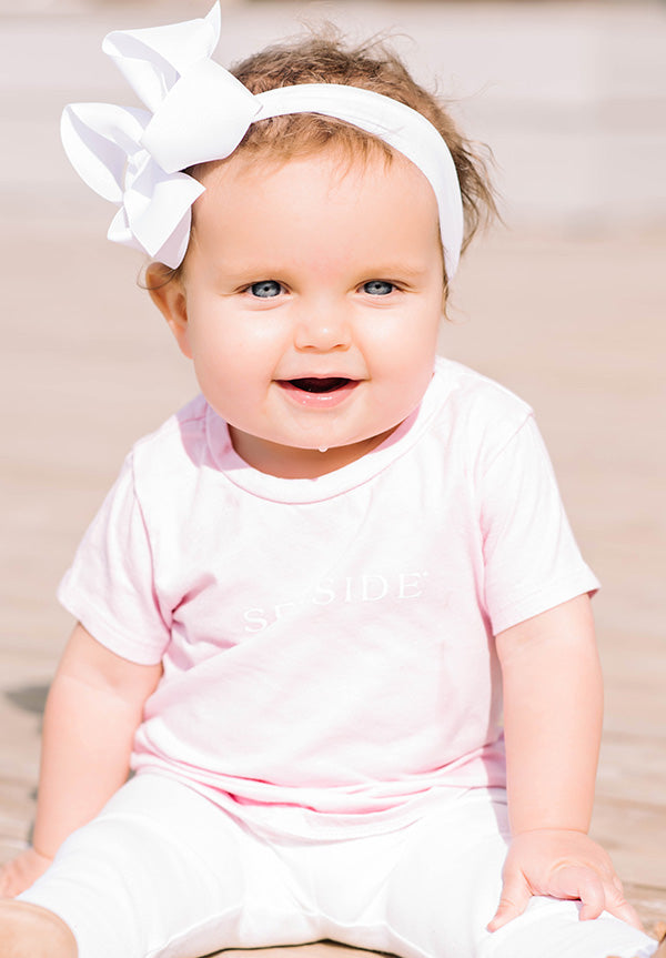 Pink Infant Shortsleeve Seaside Tee