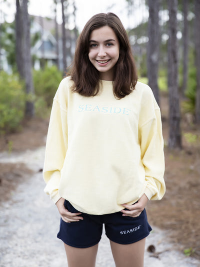Butter Camden Ribbed Seaside Sweatshirt