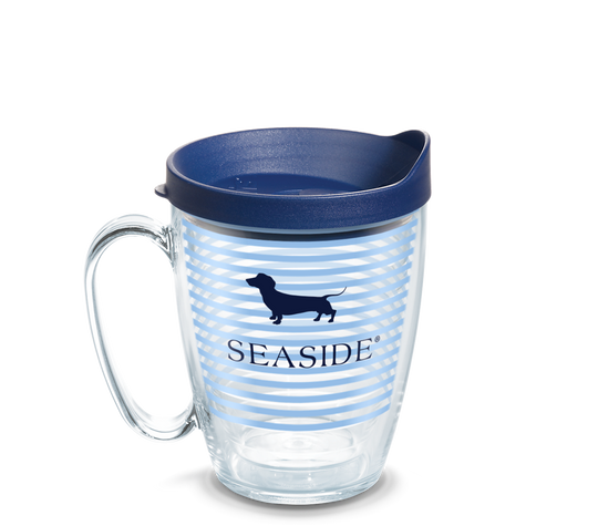 Seaside Bud the Dachshund Stripe Tervis