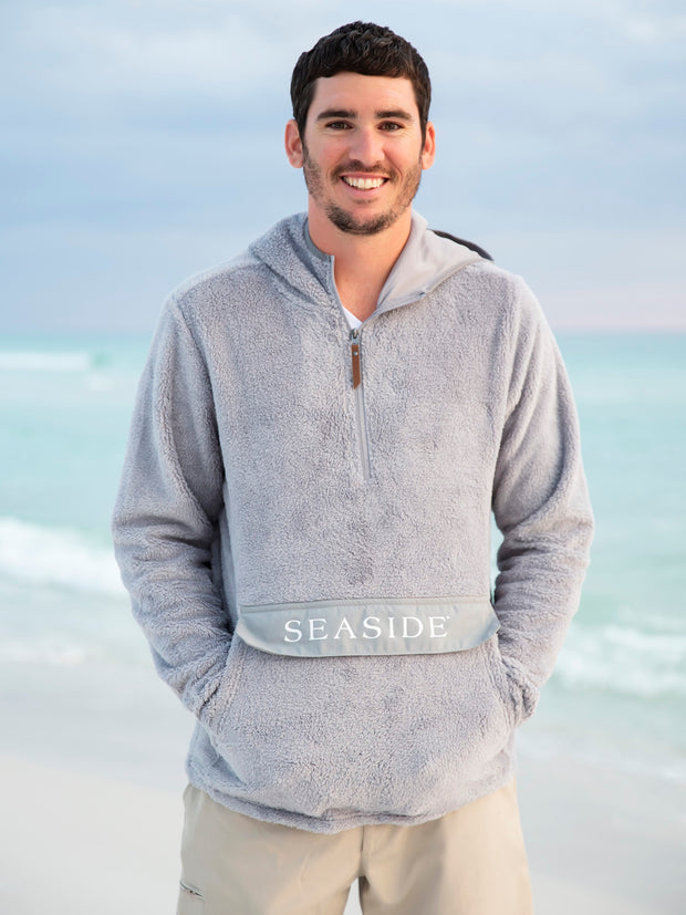 Grey Lightweight Seaside Newport Hoodie