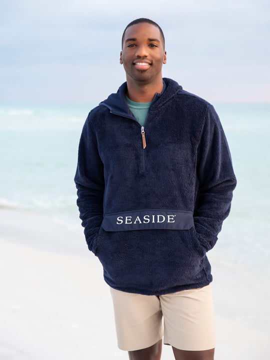 Navy Seaside Lightweight Newport Hoodie
