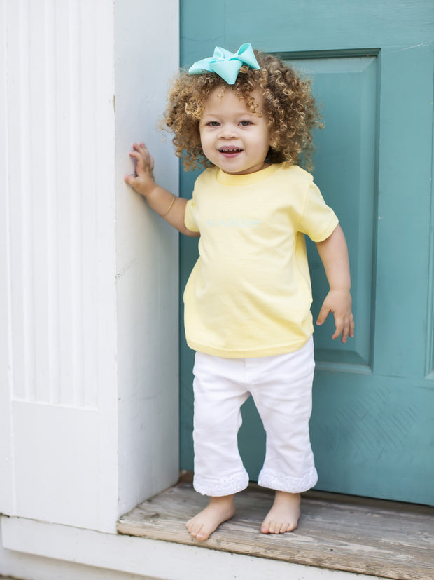 Toddler Yellow Seaside Tee