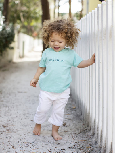 Toddler Mint Seaside Tee