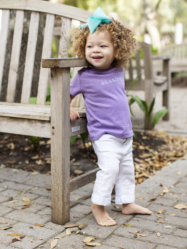 Lavender Toddler Seaside Tee
