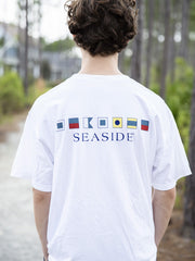 Nautical Flag Seaside Tee
