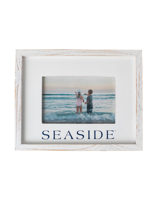 Wooden Seaside Picture Frame