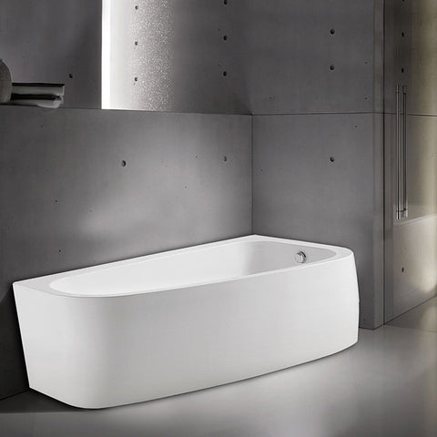 "AKDY 67"" Freestanding Soaking Bathtub AZ-F292R"