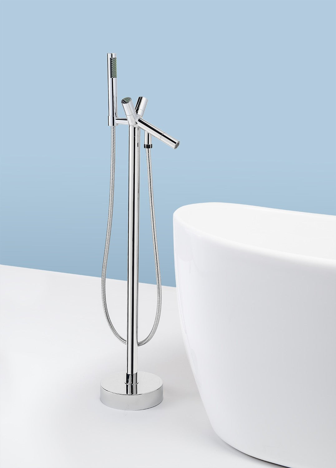 AKDY Freestanding Tub Filler Faucet | ATF8711 – RainShowersDirect.com