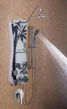 Jet Pro Colonial Shower Spa - Black Bamboo