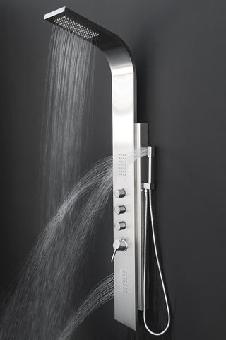 "AKDY 58"" Stainless Steel Shower Panel  GSP9878B"