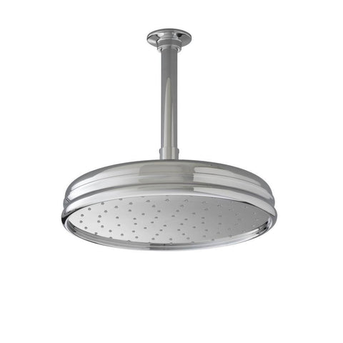 "Kohler 10"" Traditional Round Rain Showerhead - Polished Chrome"