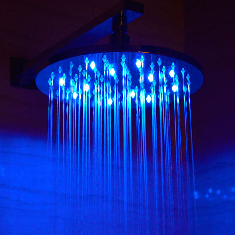 "Alfi Brand 10"" LED Rain Shower Head - Round"
