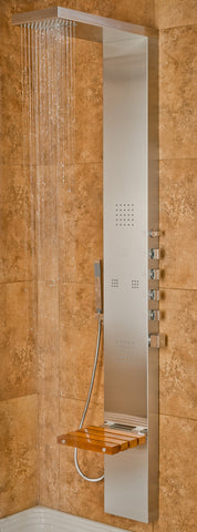 Pulse ShowerSpas Oahu Shower Panel