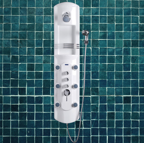 Ariel A104 Lucite Acrylic Shower Panel