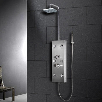 Ariel A300 Stainless Steel Shower Panel