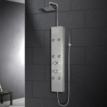 Ariel A301 Stainless Steel Shower Panel