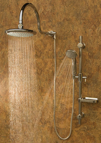 Pulse ShowerSpas Aqua Rain Shower System - Brushed Nickel