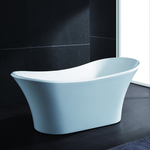 "AKDY 71"" Freestanding Soaking Bathtub AZ-F274"