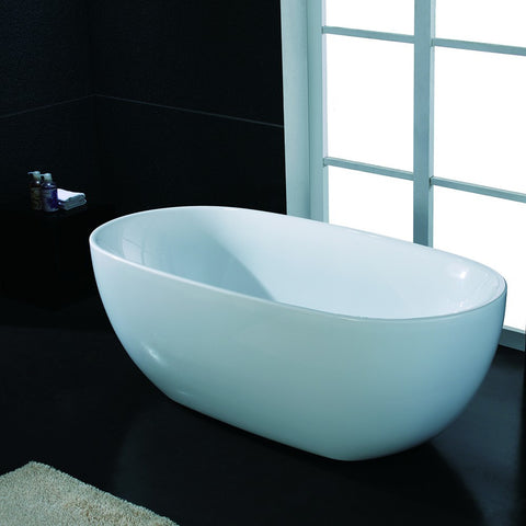 "AKDY 67"" Freestanding Soaking Bathtub AZ-F277"