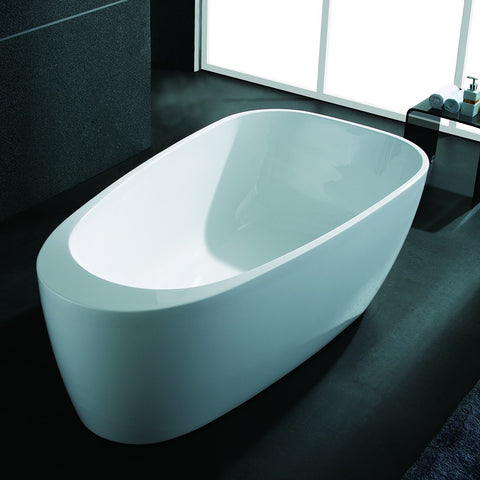 "AKDY 67"" Freestanding Soaking Bathtub AZ-F291"